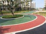 彩色透水地坪包工包料上海桓石彩色 透水地坪透水混凝土吸附地表水 促进水循环