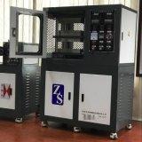 东莞卓胜(厂家直销)ZS-406B电加热双层配色打样机 平板硫化机 热压成型机 电动加硫成型机