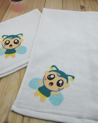 廠家定製廣告禮品純棉印花繡花割絨運動毛巾