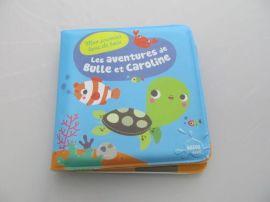 EVA洗澡書玩具書嬰兒益智玩具