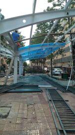 耐力板 阳光板厂家-东营阳光板雨棚