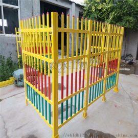 山东箱式变压器围栏 绝缘玻璃钢箱式护栏