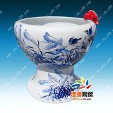 青花瓷大缸,陶瓷裝飾大魚缸