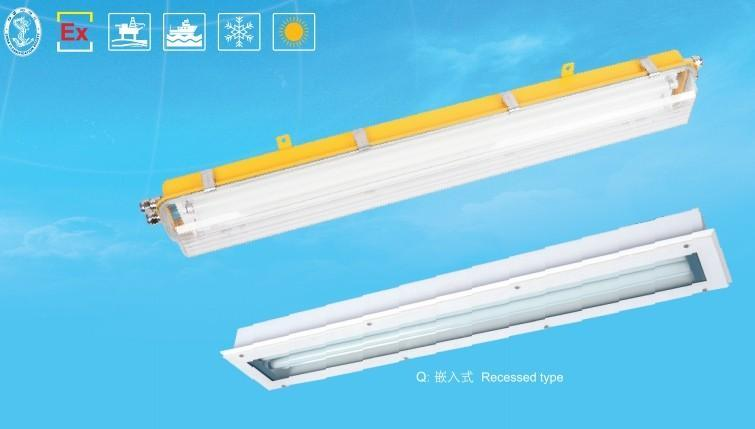 防爆燈防腐熒光燈BAY51-G(不鏽鋼IIC級),有船檢證ATEX認證
