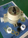 防爆分合開關SWB-10A/220V雙聯單極防爆照明旋鈕開關