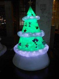 发光 圣诞树摆件 圣诞节装饰品商务礼品