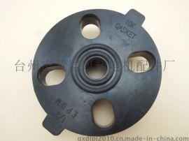 台州黄岩CX创新塑胶EPDM三元乙丙橡胶国标DN65法兰垫片
