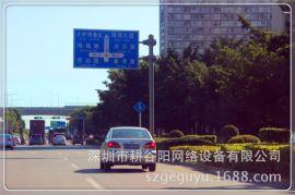 高速公路指示牌立杆,停车场指示牌立柱,监控器材配件