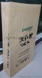上海定做25公斤纸塑复合牛皮纸袋包装袋