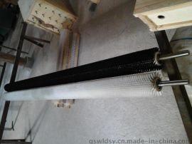 万里达供应工业毛刷辊 毛刷辊厂家 清洗机械毛刷辊 磨料丝刷辊 钢丝刷辊