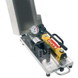 美国PARKER手动液压卡套预装机,DIN2353卡套预装设备