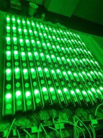 批发绿色LED洗墙灯GWD--XQD12W质保3年