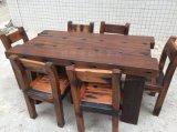 福缘老船木家具办公桌原生态实木餐桌椅组合沙发
