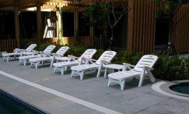 青岛沙滩椅 青岛游泳池躺椅 青岛海边温泉休闲椅 山东海硕