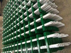 生产草坪pvc栅栏 公园景观防护栏 小区隔离围栏