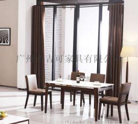 厂家批发家用餐桌 大理石餐桌餐桌椅组合 简约不锈钢餐桌