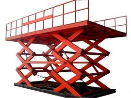 大噸位液壓剪叉升降平臺、移動式平臺車、濟南天越專業生產廠家