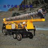 辽宁 太阳能光伏履带式打桩机 工程建筑打桩机 地基螺旋打桩机