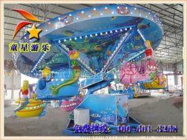 童星海洋漫步 火热上市 广场新型游乐设备
