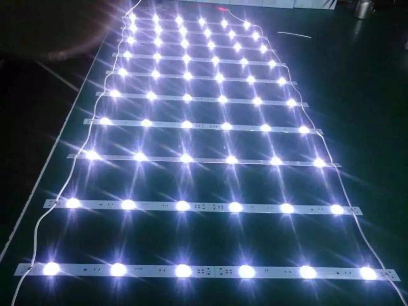 深圳市鑫长昊光电 专业生产3030漫反射灯条 拉布灯条 3030透镜灯条