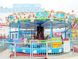 儿童游乐设备海洋探险轨道游乐设备章鱼探险金宝现货供应
