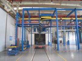悬链式抛丸机生产厂家 循环通过式抛丸清理机 悬挂式抛丸清