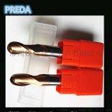 鎢鋼球頭銑刀HRC55度銑刀數控1-20mm鎢鋼球刀硬質合金加長塗層