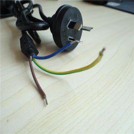 纯铜澳规插头电源线 澳规护套电源线 澳规双层绝缘电源线