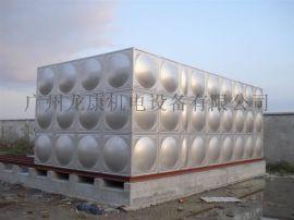 专业供应三亚市201 304不锈钢生活水箱 不锈钢消防水箱厂家价格