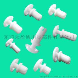 厂家低价批发 塑料铆钉 尼龙钉 半圆头R型铆钉 机箱固定扣R2048 黑色