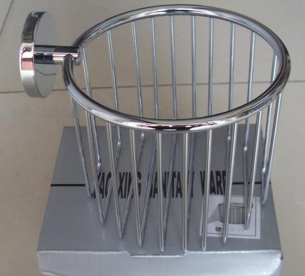 304不鏽鋼籃框 小捲紙放置架 壁掛式廁紙盒