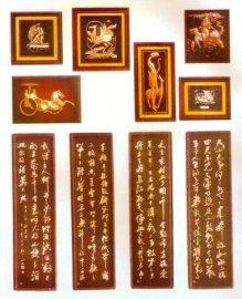 青铜工艺礼品/铜版画/紫铜浮雕画匾