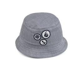 高普灰色遮陽兒童漁夫帽9C0283