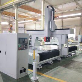 工業鋁型材五軸復合加工中心工業鋁數控加工中心