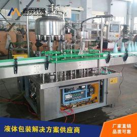 厂家促销铝箔封口制盖二合一灌装机 全自动灌装机 深受客户信赖