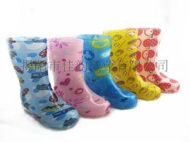 揭阳厂家供应儿童图纹雨鞋
