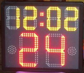 篮球比赛24秒计时器新14秒**有线无线体育24秒计时记分器