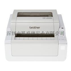 兄弟标签机TD-4000热敏电脑标签机102mm**宽幅热敏标签打印机