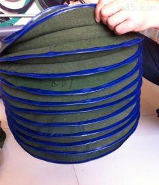 绿色石棉布丝杠式防护罩、耐高温伸缩式防尘罩、阻燃油缸防护套(保护套)