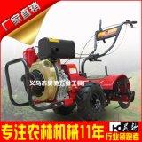 厂家直销178F柴油微耕机厂家直销 手启动松土翻土机 大棚园林农业机械