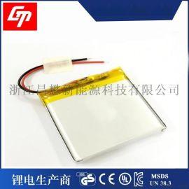 3.7v充电 电池,聚合物805050 电池2400mah移动电源 电池