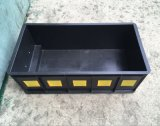 黑色塑料週轉箱 防靜電 加厚長方形工業導電pp塑料週轉箱