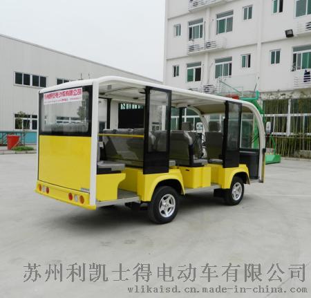 江蘇11座電動觀光車,蘇州景區遊覽車主打品牌
