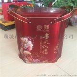 2017新款设计马口铁扒鸡铁盒厂家直供可定制