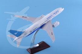 树脂飞机模型34cm厦门航空B787厦航模型