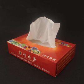老河口广告纸巾盒 餐饮酒店地产行业纸质纸抽盒定制