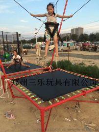 兒童蹦極廠商營口-雙人蹦極跳牀適合場地