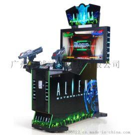 新款大型枪击游戏机异形枪击游戏机大型射击类模拟机
