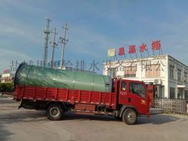 一体化污水提升泵站地埋式玻璃钢设备概述