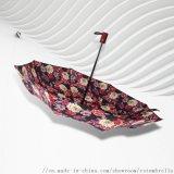 RST全自動晴雨傘三折女士8k抗風雨傘